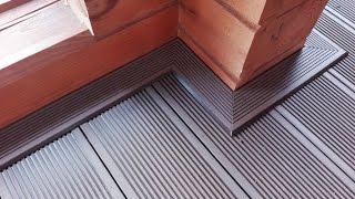 видео Террасная доска на балконе: укладка и отделка