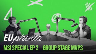Group Stage MVPs (ft. Kaiser) | EUphoria | 2021 MSI Special EP2