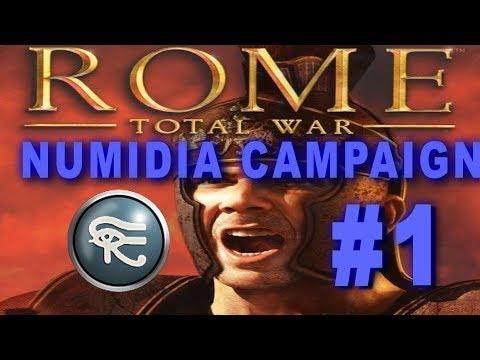 Rome: Total War Numidia Campaign #1