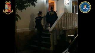 Операция против в мафии в Палермо и Нью-Йорке