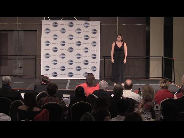 Heidi Heron - 2019 International Speech Contest
