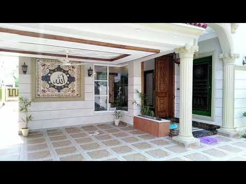 1 KANAL BRAND NEW HOUSE FOR SALE IN OVERSEAS A BLOCK BAHRIA TOWN LAHORE