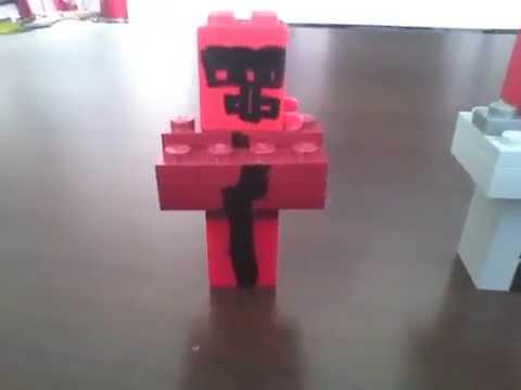 Aldeanos minecraft con piezas de lego youtube - Piezas lego gigantes ...