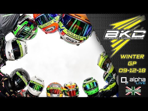 Bambino Kart Club Winter GP 2018 LIVE From Whilton Mill