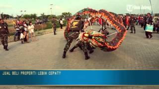 VIDEO Kemeriahan Karnaval Cap Go Meh di Sekolah Nasional Karangturi Semarang