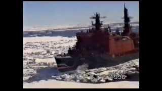 """""""К полюсу напролом"""", Поход ледокола """"Ямал"""" к Северному полюсу, 1996 год"""