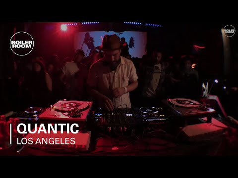 Quantic Boiler Room x Budweiser Los Angeles DJ Set