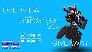 Gamesir G3v & G3s Gamepad Unboxing & Overview