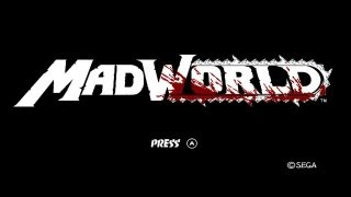 Nintendo Wii  летсплеи - MAD WORLD