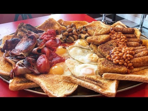THE TERMINATOR 2 FULL ENGLISH BREAKFAST CHALLENGE | C.O.B. Ep.81