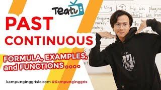 Download lagu Past Continuous Tense: Rumus, Contoh dan Fungsi   TEATU with Mr Diaz - Kampung Inggris LC