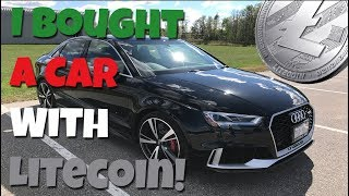 I Bought A Brand New Car With Litecoin!