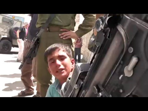Eight years old Palestinian child been abused and arrested by Israeli soldiers   YouTube