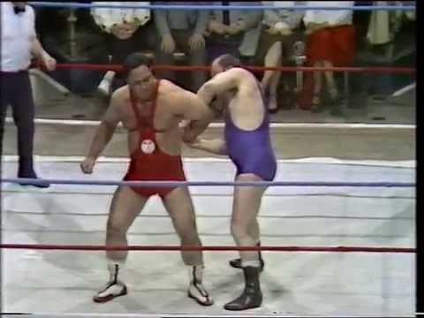 UK ITV Wrestling - England vs Pakistan special