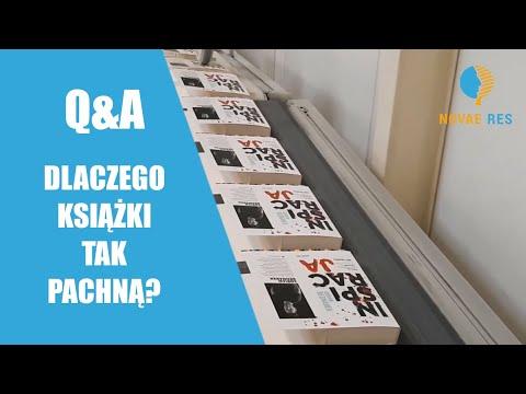 Q&A, czyli dlaczego książki TAK pachną?