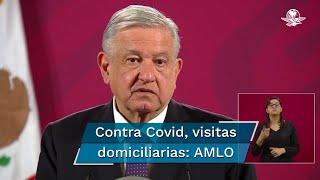 El presidente Andrés Manuel López Obrador llamó a la población a no esperar y acudir a los hospitales en caso de tener síntomas de coronavirus