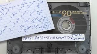Acid Rock with Steve Walker. Recorded in Manchester - 1995