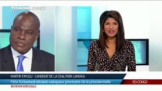 Présidentielle en RDC : réaction de Martin Fayulu, dénonçant les résultats provisoires du scrutin