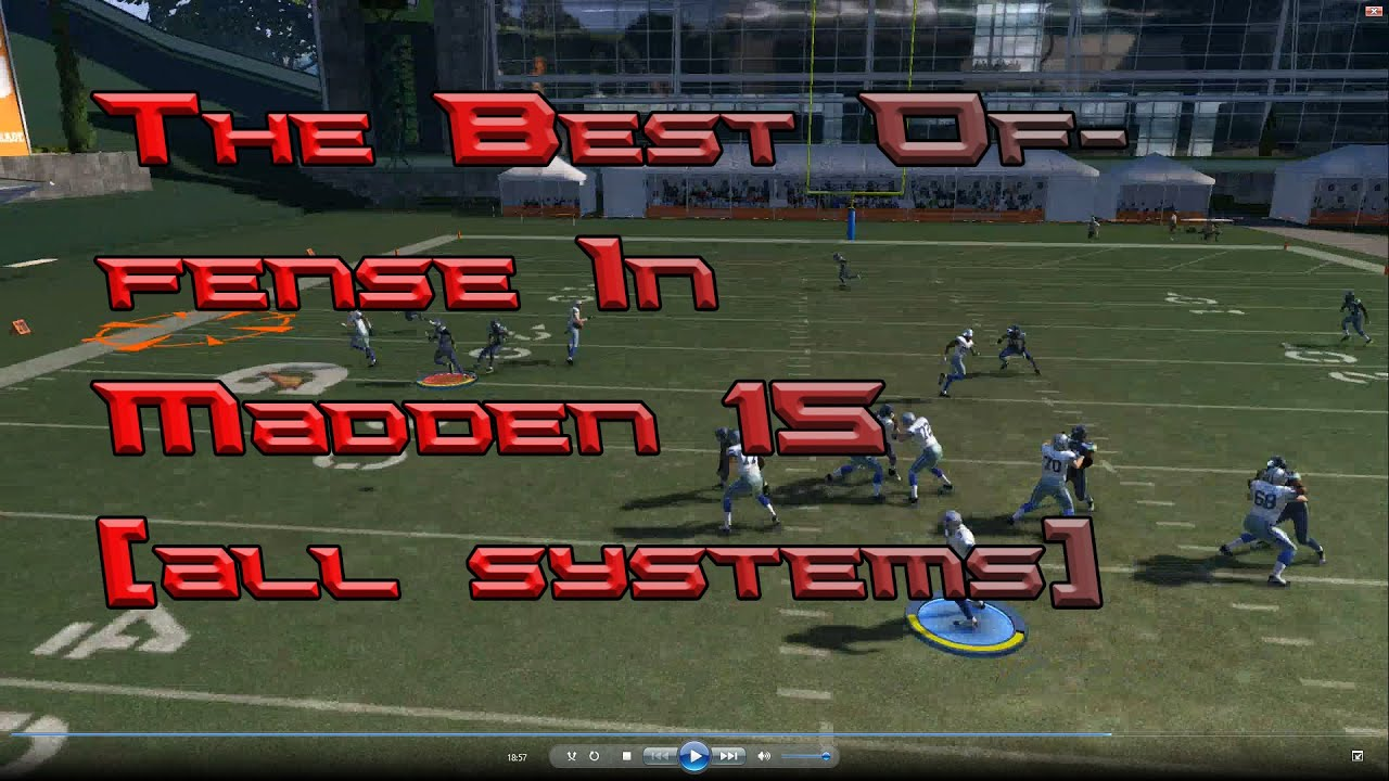 The best offense in madden 15 all systems youtube