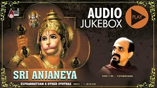 Video Sri Anjaneya Suprabhatam Stotra | Juke Box | Sung By: Vidyabhushana download MP3, 3GP, MP4, WEBM, AVI, FLV Oktober 2018