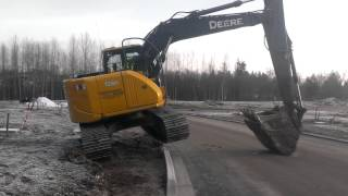 Excavator trick