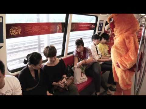 How To Deal With Seat-hoarding Aunties In The MRT