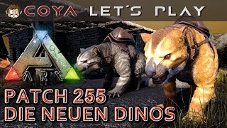 ARK • Thylacoleo, Microraptor, Electrophorus, Ammonite • PATCH 255 • ARK Deutsch Survival Evolved