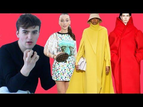 EMMA CHAMBERLAIN AT LOUIS VUITTON!?! (Fall Winter 2019 Paris Fashion Week Review Part 2)