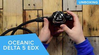 Oceanic Delta 5 EDX Regulator | Unboxing