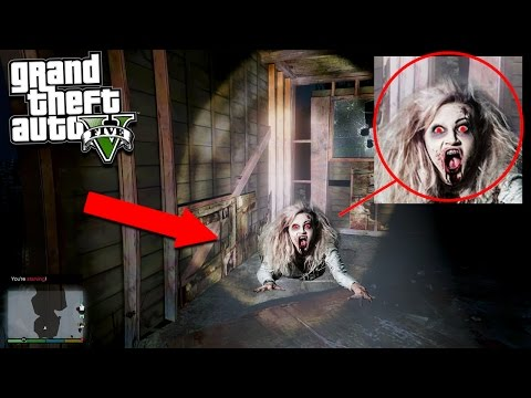 GTA 5 HUNTING THE WITCH EASTER EGG!!! 😱 (Scary)