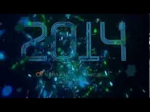 Bonne année 2014 de Alpha Bio France  640x360