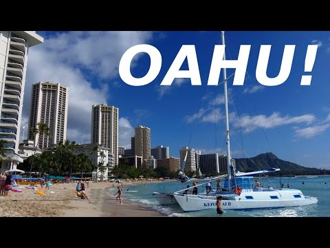 Hawaii Travel: A Tour of Beautiful Oahu Island & Honolulu