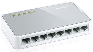 My TP-Link TL-SF1008D 8-Port 10/100Mbps Unmanaged Desktop Switch Review