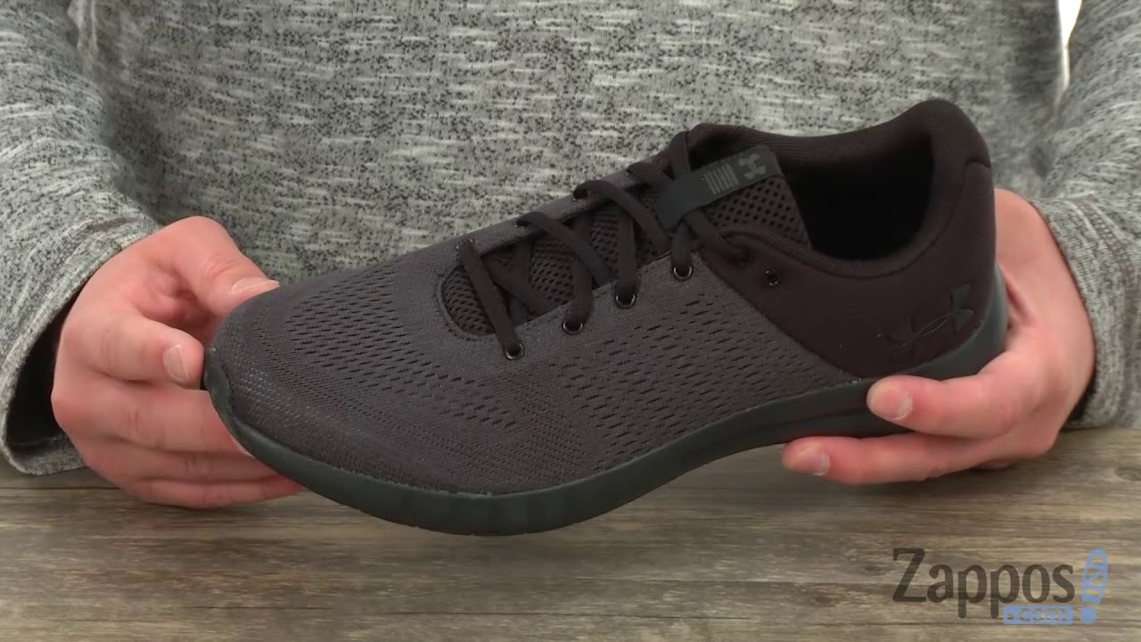 Under Armour UA Micro G Pursuit SKU  8966820 - YouTube 8d04a00bfd
