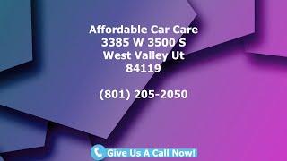 Auto Repair West Valley City, Utah