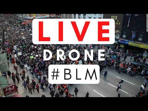 #BLM Drone LIVE Stream London Ontario June 6, 2020