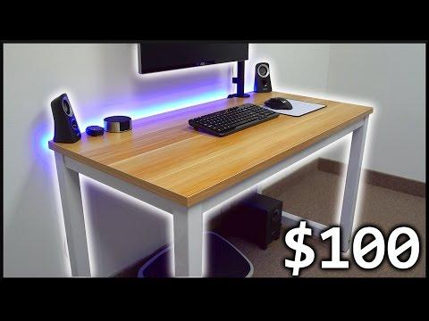 Dope Wood Desk For Your Setup!