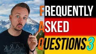 Germany FAQ: Frequently Asked Questions About Germany And Germans | Get Germanized | Episode 03