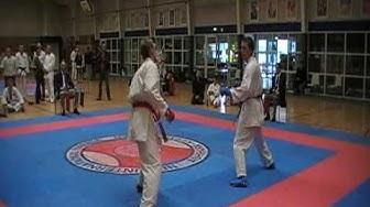 Jysk Mesterskab 2009, Wado Ryu Karate Kumite, +85, Unknown vs. Bjarke