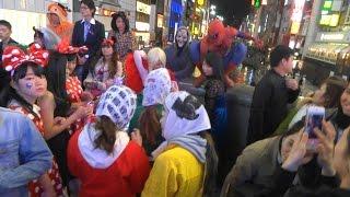 Halloween in japan 2015