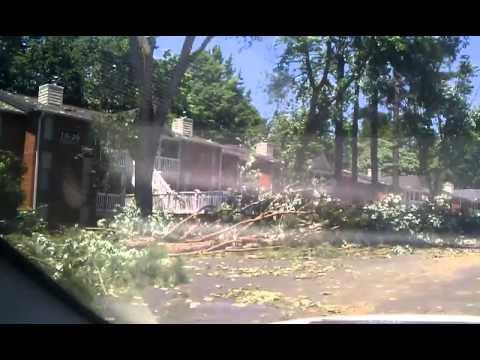 Sandy Springs/Atlanta Storm damage