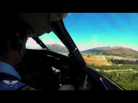 The Magic of Flight - Landing in Queenstown, New Zealand