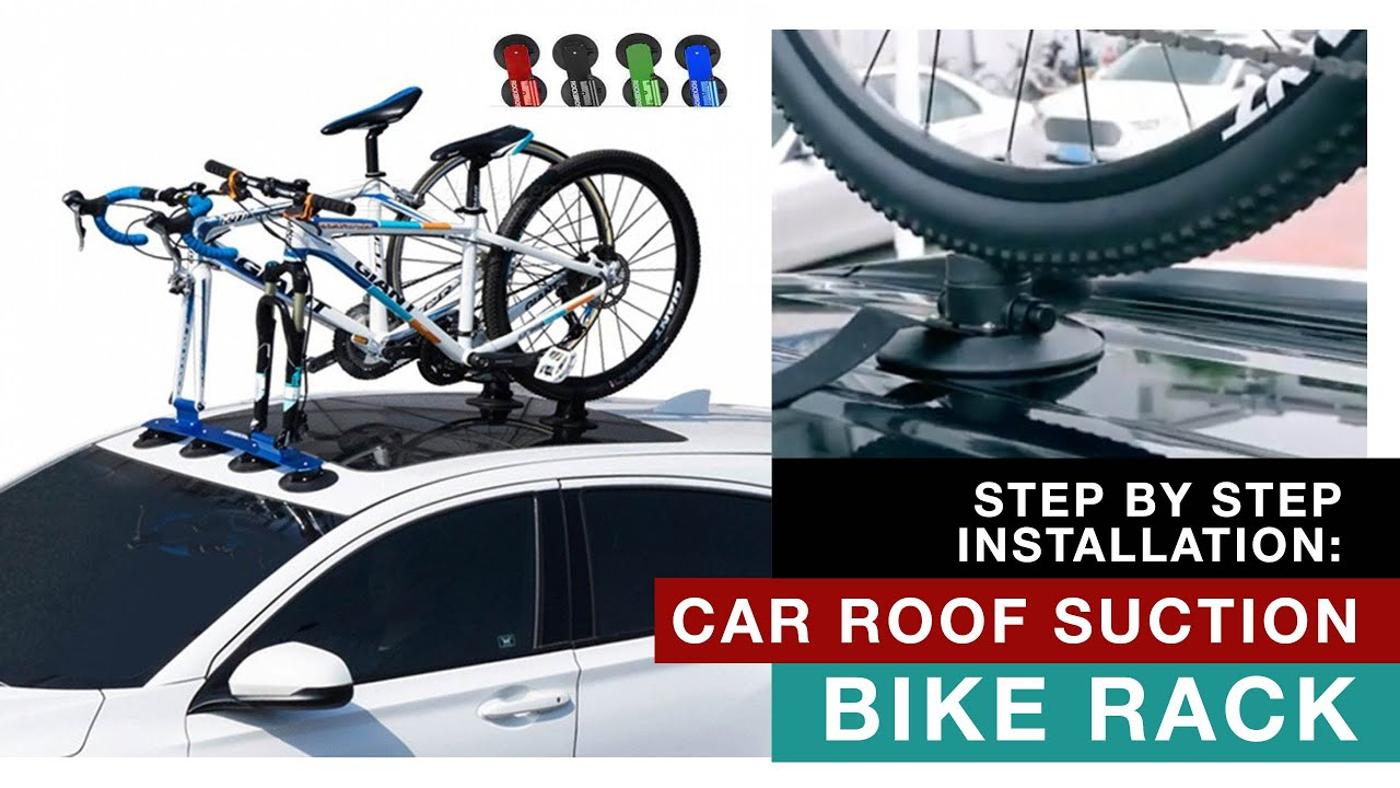 suction bike roof rack cycling frelsi
