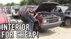 Hunting For A Junkyard Interior! S-10 Custom Crew Cab Ep.2