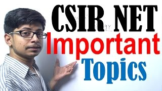 CSIR NET life science most important topics | CSIR NET exam preparation