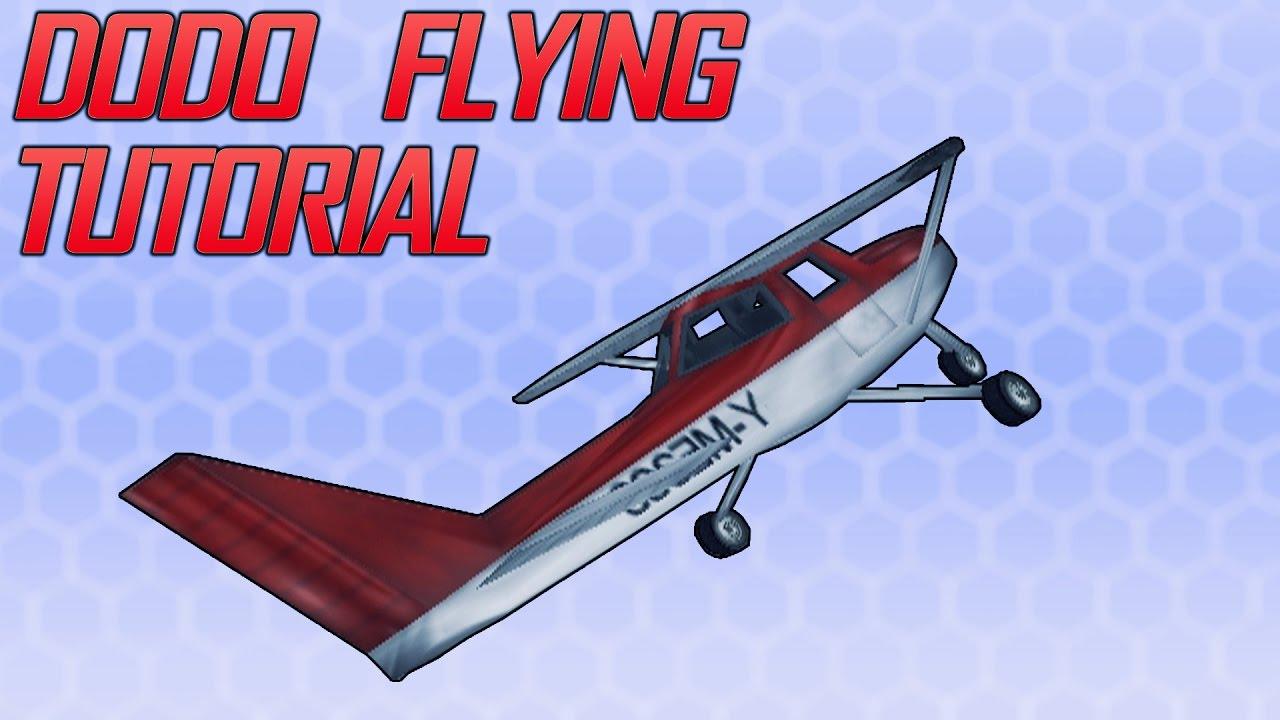 GTA III - Dodo Flying [TUTORIAL]