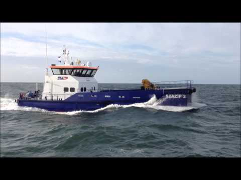 SeaZip offshore service - Damen shipyards FCS 2610