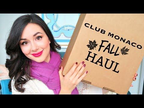 CLUB MONACO FALL HAUL & TRY ON