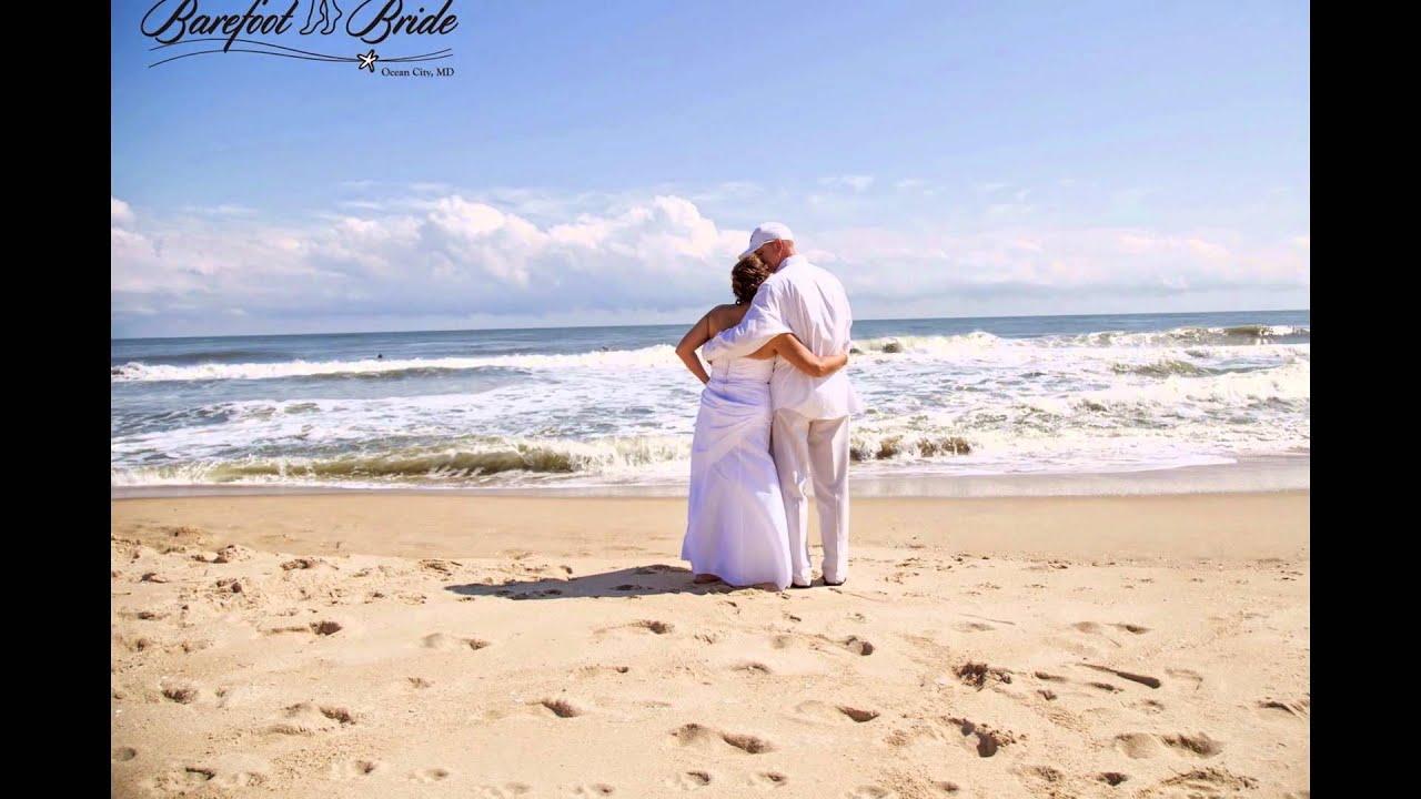 Barefoot Bride Oc Ocean City MD Beach Weddings Barefootbride