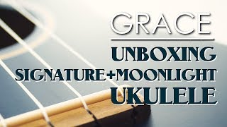 Grace VanderWaal - Unboxing Fender Signature and Moonlight Ukulele